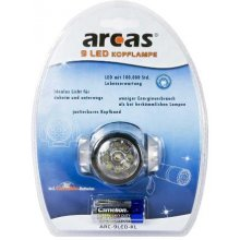 Arcas Headlight ARC9 9 LED, 4 Valgustus...