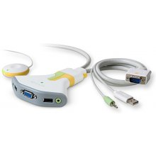 BELKIN Flip USB koos Audio KVM Switch, USB...