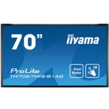 "Monitor IIYAMA 179.6cm(70"") TH7067MIS-B1AG..."