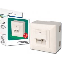 DIGITUS CAT 5e modular wall outlets shielded...