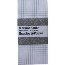 Bradley Märkmepaber 70x150/100l ruut Brad