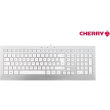 Клавиатура Cherry Tas STRAIT Corded белый...