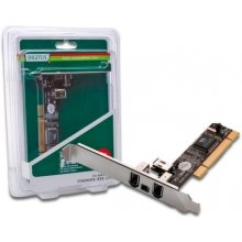 DIGITUS PCI Card 2x FireWire400 6pin +1x FW...