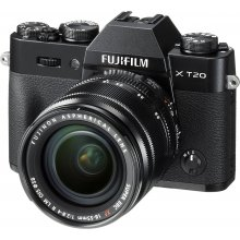 Fotokaamera FUJIFILM X-T20 + 18-55mm Kit...