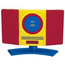 AEG MC 4464 muusika Center punane / kollane...
