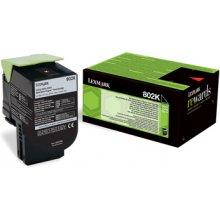 Lexmark Toner 802K black | return | 1000...