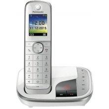 Telefon PANASONIC KX-TGJ320GW valge