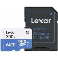 Флешка Lexar microSDXC High Speed Class 10...