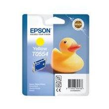 Тонер Epson чернила T0554 жёлтый | Stylus...