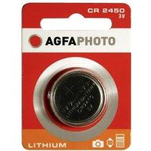 AGFAPHOTO CR2450 3V литий Knopfzelle