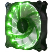 TRACER Fan ATX LED 12cm roheline