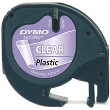 Dymo 12mm LetraTAG Plastic tape, blister, 19...