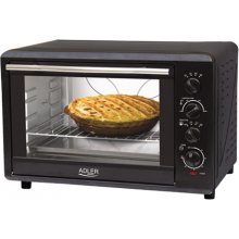 ADLER Mini Oven, Black, 2000W W