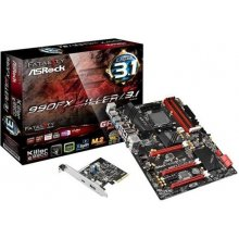 Emaplaat ASRock 990FX Killer/3.1 Sockel AM3+