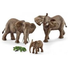 Schleich pere of African elephants