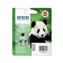 Тонер Epson ink cartridge чёрный twin pack T...
