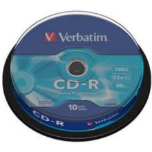 Диски Verbatim 1x10 CD-R 80 / 700MB 52x...
