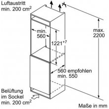 Külmik SIEMENS KI41FAF30 Einbau-Kühlautomat...