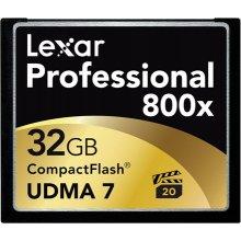 Mälukaart Lexar CF Card 32GB 800x...