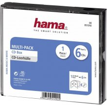 Toorikud Hama CD Multi-Pack 6