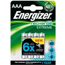 ENERGIZER Recharge Extreme AAA / 4 pcs