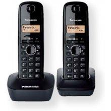 PANASONIC Cordless KX-TG1612FXH Black...