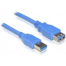 Delock USB3.0 Verl. A -> A St/Bu 1.00m синий