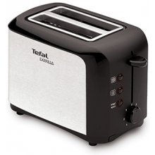 TEFAL Toaster TT356110 Black, Stainless...