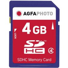 Флешка AGFAPHOTO SDHC card 4GB