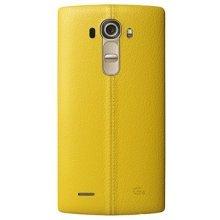 LG nahast batterycover CPR-110 kollane do G4