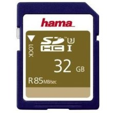Флешка Hama SDHC Card 32GB UHS-I U3