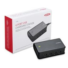 Ednet 4-Port USB-Ladestation