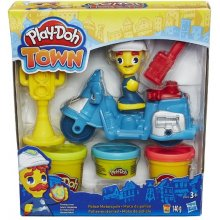 HASBRO Play Doh Town Police Motorcycle