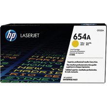 Тонер HP INC. HP Toner/654A жёлтый LaserJet...