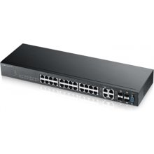 "ZYXEL Switch 19"" 24x GE GS2210-24 SNMP 4x..."