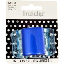Linziclip Midi Hair Clip Blue Pearl...