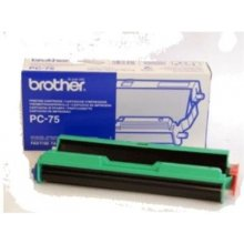 BROTHER PC-75 koos Thermal Transfer Ribbon