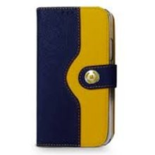 Celly ONDAIPH6BL Folio, Leather, Blue...