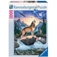 RAVENSBURGER 1000 ELEMENTS Howling Wolf
