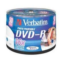 Toorikud Verbatim 1x50 DVD-R 4,7GB 16x...