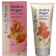 Frais Monde Ambra Argan Body Cream, Cosmetic...
