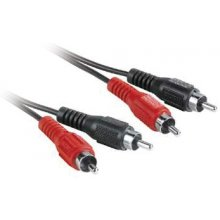 Hama 43316 Audio-Kabel 2x Cinch-Stecker auf...