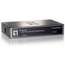 LevelOne 5-Port 10/100 PD Switch, Unmanaged...