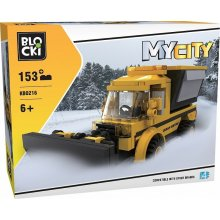 Blocki Blocks MyCity 153 pcs Snowplough