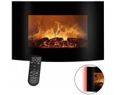 Bomann EK 6022 CB Faux Fireplace + Heater