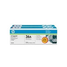 Тонер HP TONER BLACK 36A DUAL PACK/2K...
