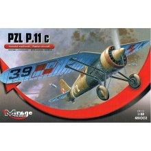 Mirage PZL P-11c Version koos Bombs