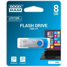 Флешка GOODRAM TWISTER 8GB Blue USB2.0