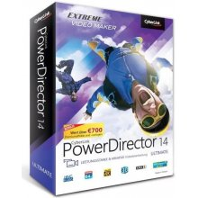 CyberLink PowerDirector 14 Ultimate Win DVD