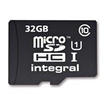 Флешка INTEGRAL MICROSDHC 32GB UHS-I 40MBS